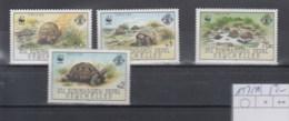 Aussere Seychellen Michel Cat.No.    Mnh/** 137/140 Wwf Turtles - Seychelles (1976-...)