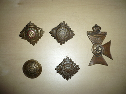 Insignes Anglais Ww 1 - 1914-18