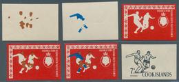 Cook-Inseln: 1966 - 1990, Riesige Sammlung Von PHASENDRUCKEN Der Ausgaben Der Cook Inseln Aus Mi. 12 - Cookinseln