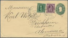 Cuba: 1899, Spanish American War : Columbus Eight Different Postal Stationery Envelopes (one Surchar - Kuba