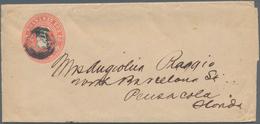 Cuba: 1899/1980 Ca. 130 Unused/CTO-used And Used Postal Stationery Postcards, Picture Postcards, Env - Kuba
