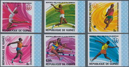Guinea: 1965/1982. Lot Of 2,852 IMPERFORATE Stamps Showing Various Interesting Topics Like Animals ( - Guinea (1958-...)