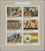 Guinea: 1965/1983 (ca.), Duplicated Accumulation In Large Box With Mostly IMPERFORATE Single Stamps, - Guinea (1958-...)