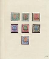 Indien - Dienstmarken: 1912-23 More Than Complete Collection Of 31 KGV. Definitives, Wmk Single Star - Dienstmarken