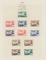 Iran: 1853/1961, Airmails, Specialised Accumulation Of Apprx. 920 Stamps And Apprx. 30 Covers, Mount - Iran