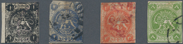 Iran: 1868-78, Lions Issue 21 Stamps Clear Cancelled, Some Faults And Thins, Still Fine For Study - Iran