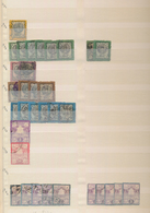 Iran: 1876/1935, Comprehensive Used And Mint Accumulation In A Stockbook, Partly Stuffed Very Densel - Iran