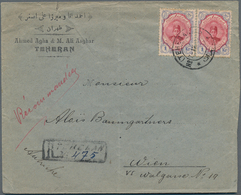 Iran: 1876/1976 (ca.), Outstanding Accumulation Of More Than 130 Pieces, Covers, Parcel Bills And Po - Iran