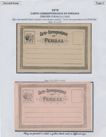 """Iran: 1878-1925, """"PERSIAN POSTAL STATIONERY IN THE QAJAR PERIOD"""" Exhibition Collection On 128 Pages - Iran"""