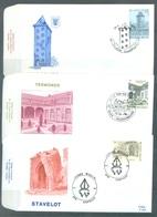BELGIUM - 19.6.1982 - FDC - TOURISME - RODAN 654-659 - COB 2054-2059 - Lot 19617 - FDC