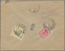 Iran: 1914-20, 16 Covers With Censor Marks And Labels, Showing Cancellations Of Hamadan, Lahidjan, R - Iran