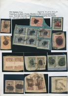Iran: 1917/44 (ca.), Massive Specialized Collection Mounted On Pages Inc. Inverted Ovpts., Many Cove - Iran