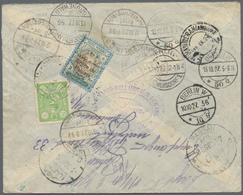 Iran: 1927/1974 (ca.), Mainly 1920s, Lot Of Ten Entires, Incl. Eight Commercial Covers To Berlin, Us - Iran
