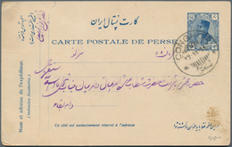 Iran: 1930-75, 24 Covers & Cards With Attractive Frankings, Many Air Mails, Fine Group - Iran