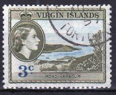 British Virgin Islands 1956 Queen Elizabeth Single 3 Cent Stamp From The Definitive Set. - British Virgin Islands