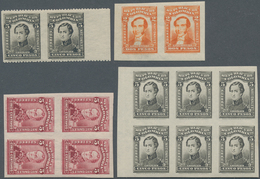 Kolumbien: 1917, Proofs For 2,5 And 10 C. Definitives Fine Mnh, Mostly As Imperforated Units. - Kolumbien
