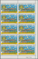 Komoren: 1975, 70 Years Rotary International And 10 Years Rotary-Club Of Moroni 250fr. In A Lot With - Komoren (1975-...)