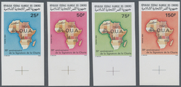 Komoren: 1993, 30 Years Charta Of Organisation For African Unity (O.U.A.) Complete Set Of Four Stamp - Komoren (1975-...)