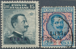 Libyen: 1910-1977, Collection In Large Album Starting Italian Occupation Overprinted Issues Includin - Libyen