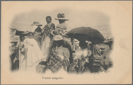 Madagaskar: 1905/1960 (ca.), Almost Exclusively Before 1930, Collection/accumulation Of Nearly 1000 - Madagaskar (1960-...)
