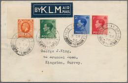 Palästina: 1900/1937, Mainly 1936/1937 British Field Post, Collection Of Apprx. 110 Covers/cards, Gr - Palästina