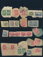 Palästina: 1900-1918, Ottoman Cancellations On 16 Stamps / Pieces, Including Different Types And Num - Palästina