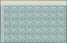 "Palästina: 1927/1942, Definitives ""Pictorials"", Comprehensive MNH Accumulation Of Some Thousand Stam - Palästina"