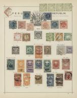 Peru: 1858-1882, Hübsche Sammlung Mit Etlichen Exemplaren Der Ungezähnten Ausgaben Vor 1866, Dabei A - Peru