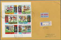 Ras Al Khaima: 1970/1971, Football World Championship/Olympic Games, Group Of Twelve Registered Airm - Ras Al-Khaimah