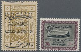 Saudi-Arabien: 1920/1960 (ca.), Hejaz/Najd/Saudi Arabia, Mainly Mint Lot On Stockcards, Comprising B - Saudi-Arabien
