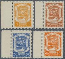 SCADTA - Ausgaben Für Kolumbien: 1921/1923, SERVICIO POSTAL AEREO DE COLOMBIA Four Values In Differe - Kolumbien