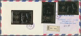 Schardscha / Sharjah: 1969/1972, Specialised Assortment Incl. Proofs, Imperfs., Varieties, Covers, T - Schardscha