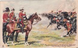 KING GEORGE V REVIEWING TROOPS AT ALDERSHOT. HARRY PAYNE - Militaria