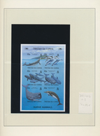 Tristan Da Cunha: 2002/2010. An Unusual Collection With Imperforate Mint, Nh, Issues, Some Of Which - Tristan Da Cunha