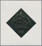 Umm Al Qaiwain: 1965/1972, MNH Assortment Of Various Gold/Silver/3D Stamps And Souvenir Sheets; Plus - Umm Al-Qaiwain