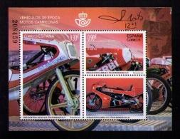 ESPAÑA 2015 - MOTOS CAMPEONAS - BULTACO - DERBI - GARELLI - BLOCK - EDIFIL Nº 5012 - 1931-Hoy: 2ª República - ... Juan Carlos I