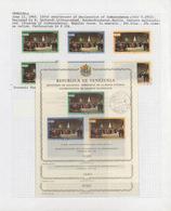 Venezuela: Ab 1951, Tolle Sammlung In 3 Großen Scott-Alben Mit Vielen Kompletten Serien, Blocks, Kle - Venezuela
