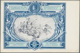 Venezuela - Ganzsachen: 1887/1911 24 Unused Postal Stationery Postcards, Incl. Picture Postcards And - Venezuela