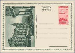 Venezuela - Ganzsachen: 1937/56 21 Unused Picture Postal Stationary Postcards With Many Different Pi - Venezuela