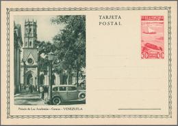 Venezuela - Ganzsachen: 1937 20 Unused Picture Postal Stationery Cards With Different Views, Nice Th - Venezuela