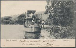 Venezuela - Besonderheiten: 1904/1960, Small Box With 90 Picture Postcards Including Some Genuine Ph - Venezuela