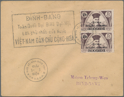 Vietnam-Nord (1945-1975): 1960/1979. Zusammenstellung Von Briefen (20, Darunter Drei Briefe Von Mili - Vietnam