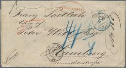 Alle Welt: 1590/1870 Ca., PREPHILATELY, Comprehensive Collection With Ca.200 Entire Letters, Compris - Sammlungen (ohne Album)