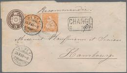 Alle Welt: 1870-1940, Europa & Übersee Briefebestand Mit Viel Portugal & Kolonien, Azoren Etc., Rumä - Sammlungen (ohne Album)