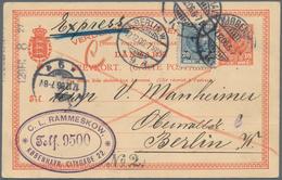 Alle Welt: 1880-1960, Bunter Posten Mit Geschätzt 1.000 Briefen Und Ganzsachen, Viel Europäische Län - Sammlungen (ohne Album)
