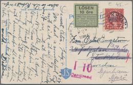 Alle Welt: 1880-1980, Schachtel Mit Briefen Europa & Übersee, Feldpost, Rotes Kreuz, Nachporto, Inte - Sammlungen (ohne Album)