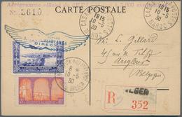 Alle Welt: 1898-1944 REGISTERED MAIL: Five Covers, A Postcard And A Postal Stationery Envelope All U - Sammlungen (ohne Album)