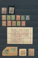 Alle Welt: 1900/1920 (ca.), Miscellanous Lot Incl. Nordingermanland, Turkey Postmarks, Greek Area, C - Sammlungen (ohne Album)