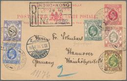 Alle Welt: 1900/1940 (ca): Kleine, Vielseitige Korrespondenz Und Belege-Partie Aus Haushaltsauflösun - Sammlungen (ohne Album)