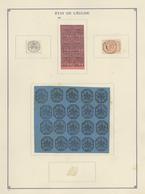 Alle Welt: 1928, ALBUM DE FAC-SIMILES, Collection Of Apprx. 2.500 Reprints Of Fournier Forgeries, Ho - Sammlungen (ohne Album)